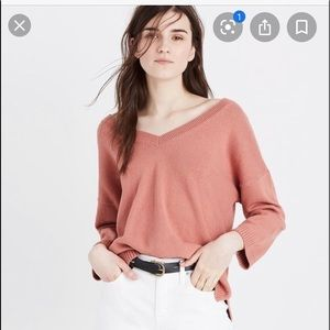 Madewell Double-V Pullover